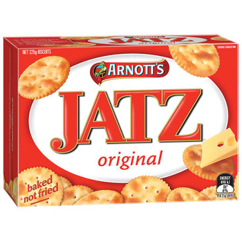 Arnotts Jatz Biscuits 225g