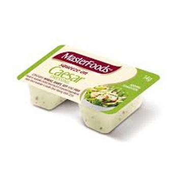 Masterfoods Caesar Salad Dressing Squeezy Portions