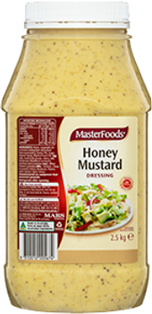 Masterfoods Honey Mustard Dressing 2.5kg