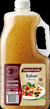 Masterfoods Italian Dressing 3 Litre