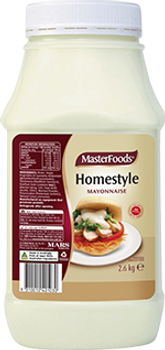 Masterfoods Homestyle Mayonnaise 2.6kg