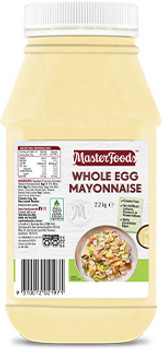 Masterfoods Whole Egg Mayonnaise 2.2kg