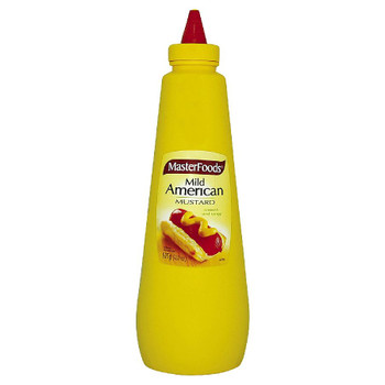 Masterfoods Squeezy Mild American Mustard 920ml