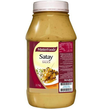 Masterfoods Satay Sauce 2.7kg