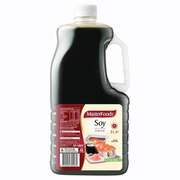 Masterfoods Soy Sauce 3 Litres