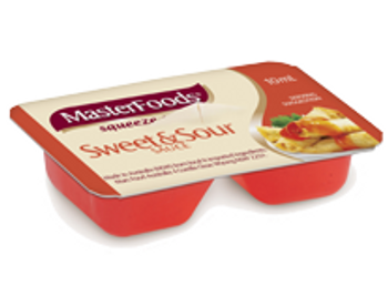 Sweet & Sour Sauce  Squeezy Portions 20 x 10g