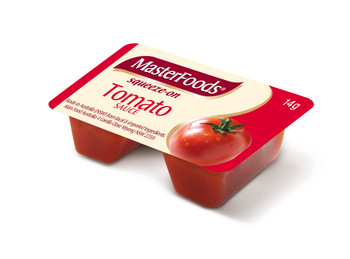 Tomato Sauce Sauce Squeezy Portions 100x14g