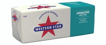 Western Star Unsalted Butter 1.5kg