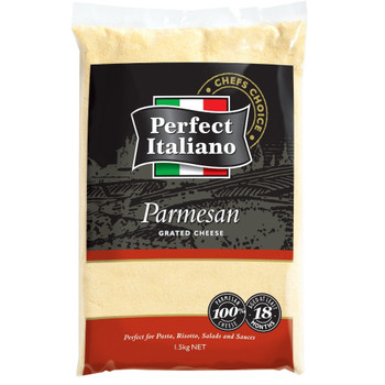 Perfect Italiano Grated Parmesan Cheese 1.5kg