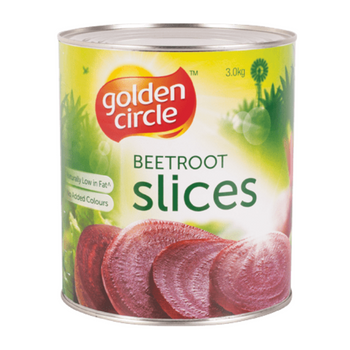 Golden Circle Sliced Beetroot 3kg A10 Tin