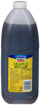 Cottees Maple Syrup 3 Litre Bottle Front View