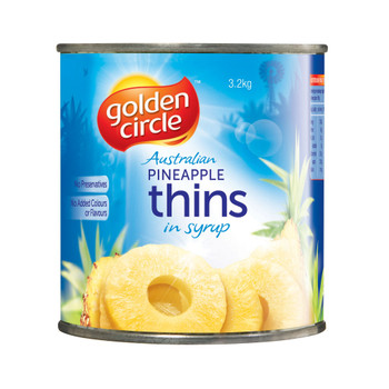 Golden Circle Australian Pineapple Thins A10 3.2kg