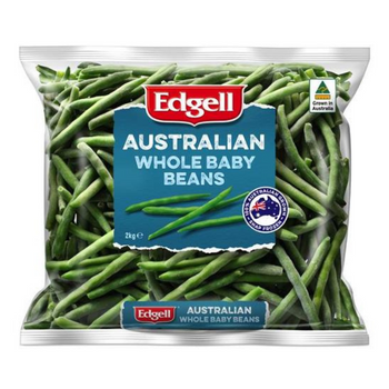 Edgell Australian whole baby beans 2kg