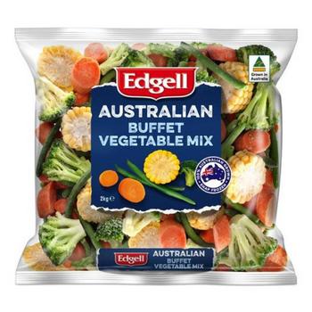 Edgell Australian Buffet Mix Vegetables 2kg