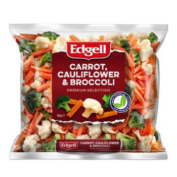 Edgell Australian Carrot Cauliflower Broccoli Vegetable Mix 2kg