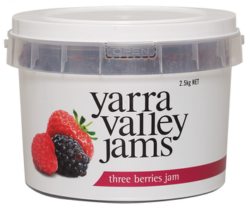 Yarra Valley Three Berries Jam 2.5kg