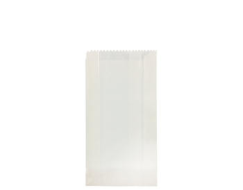 White Glassine Paper Bag 200 x 100mm GS01 x 500 Pack