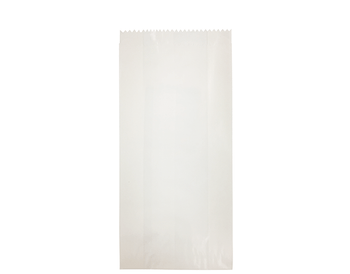 White Glassine Paper Bag 250 x 115mm  GS02 x 500 Pack