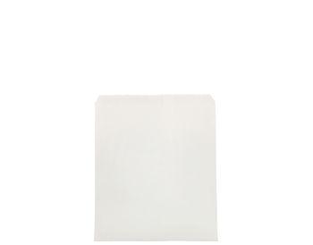 Flat White Paper Bag 280 x 235mm  WF04 x 500 Pack
