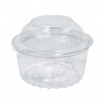 Plastic Domed Lid ShoBowls 12oz 50 Pack