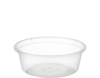 Round Containers C8 (225ml) x 100