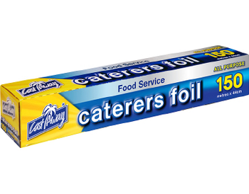 ALL PURPOSE ALUMINIUM CATERERS FOIL 44cm x 150m