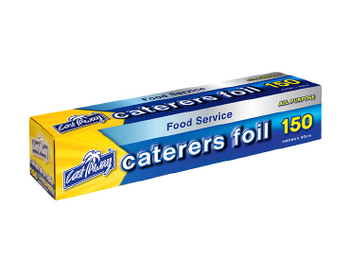 ALL PURPOSE ALUMINIUM CATERERS FOIL 30cm x 150m