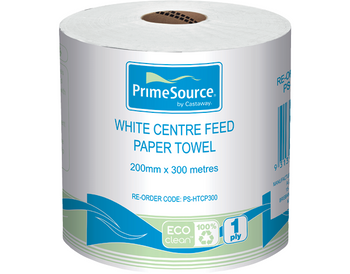 Centre Feed Paper Towel Roll 300 Metres