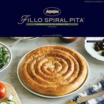 Fillo Spiral Pita-Cheese & Spinach 900g