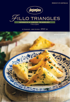 Spinach & Cheese Triangles 12 Pack