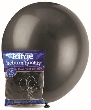Balloons Decorator 25 Pkt - Black