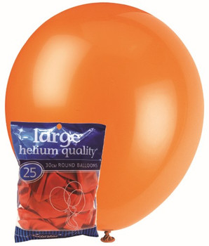Balloons Decorator 25 Pkt- Orange