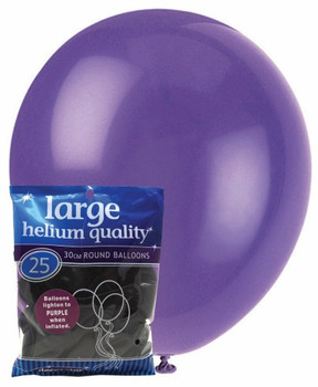 Balloons Decorator 25 Pkt- Purple