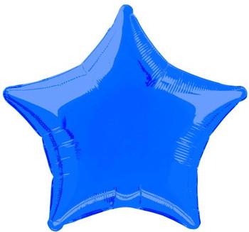 Foil Balloon Star 20Inch Royal Blue