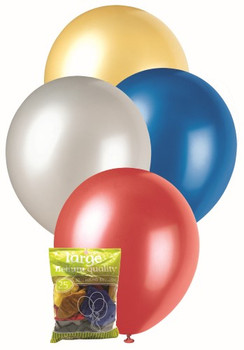 Balloons Metallic 25 - Assorted