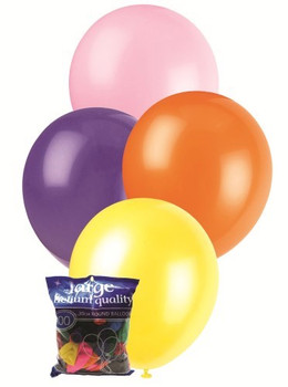 Balloons Standard 100 - Assorted