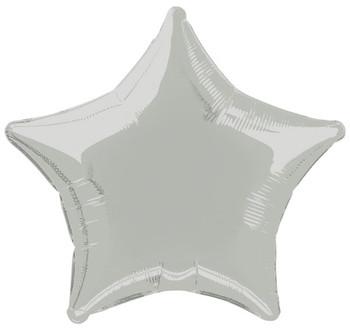 Foil Balloon Star 20Inch Silver