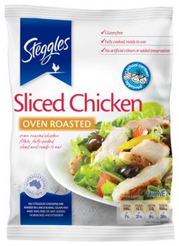 Steggles Sliced Chicken Meat Free Flow 1kg