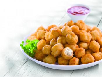 Steggles Tempura Chicken Pops Plated