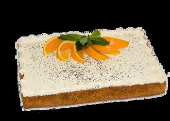 Orange Poppyseed Slab Cake - Catermate