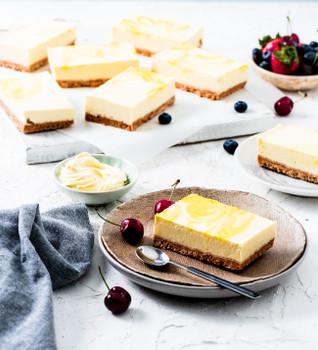 Lemon Tray Cheesecake Half Slab