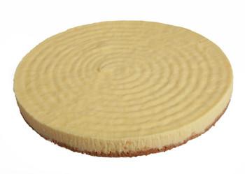 Round Lemon Cheesecake