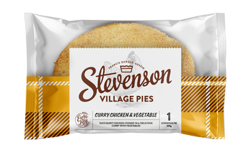 Stevenson's Village Curry Chicken & Veg Pies