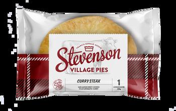Stevenson's Village Curry Steak Pies