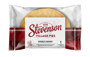 Stevenson's Village Double Chunky Beef Pies