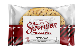 Stevenson's Village Pepper Steak Pie 210g