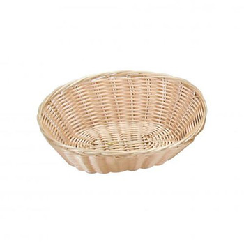 Basket Bread Oval Polyprop - 240mm