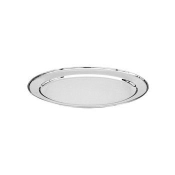 Stainless Steel Oval Platter 400mm