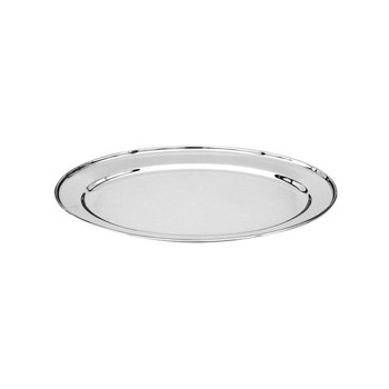 Stainless Steel Oval Platter 450mm