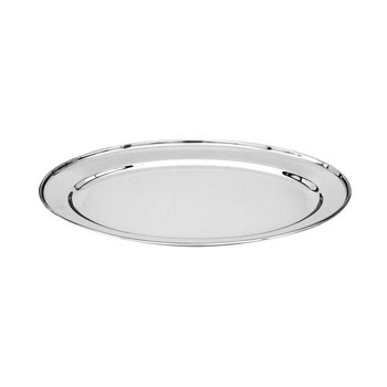 Stainless Steel Oval Platter 500mm